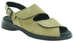 Wolky Nimes in Light Taupe Nubuck