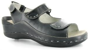 Wolky_Cloggy_Sandal_Black Brushed