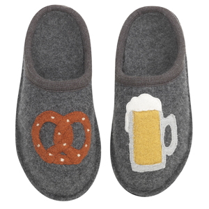 Haflinger October Fest Boiled Wool Slipper